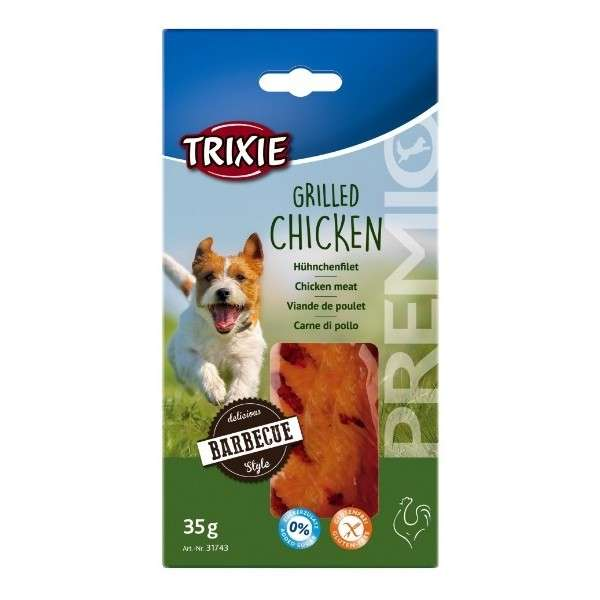 Poultry Premio Grilled Chicken 35g by Trixie Buy fair and favorable with a discount