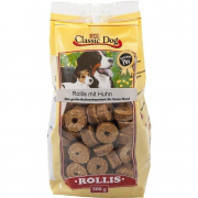 Classic Dog Snack Rollis with Chicken 500g