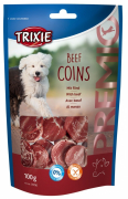 Jerky & dried beef for dogs Trixie Premio Beef Coins 100g