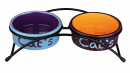 Eat on Feet Ceramic Bowl Set Multicolor