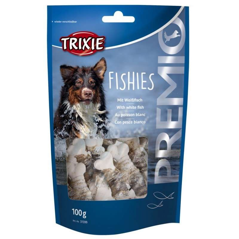 Trixie Premio Fishies with White Fish 100 g order cheap