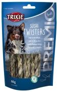 Trixie PREMIO Sushi Twisters au Poisson Blanc 60 g