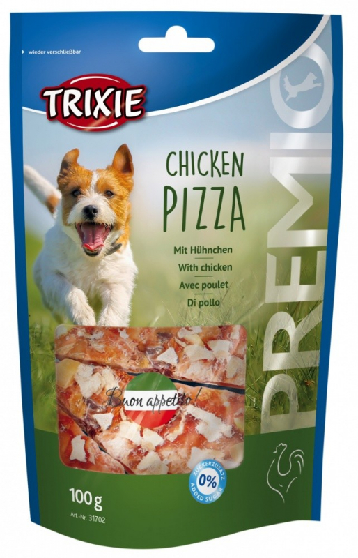 Trixie Premio Chicken Pizza con Pollo 100 g, 75 g, 80 g, 40 g, 300 g, 400 g, 5 kg