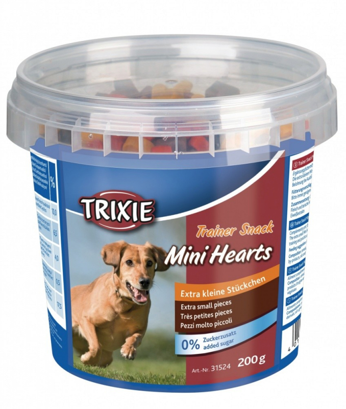 Treats & Drops Trainer Snack Mini Hearts 200g by Trixie Buy fair and favorable with a discount