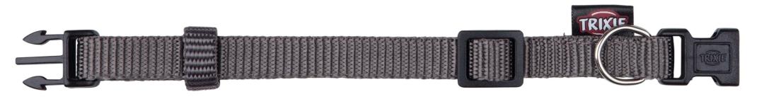 Trixie Halsband Premium Donkergrijs XS-S