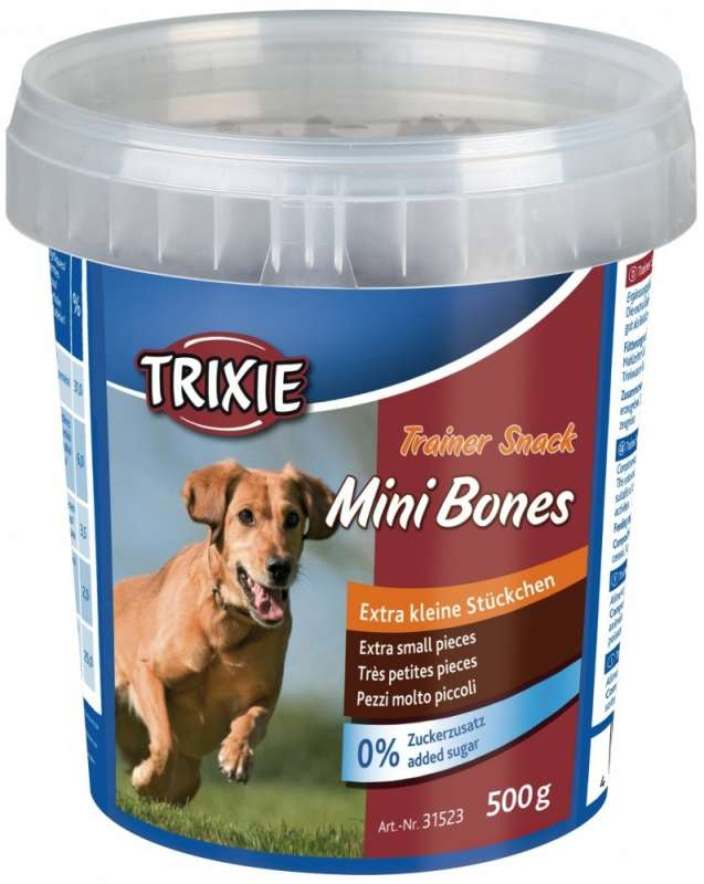 Treats & Drops Trainer Snack Mini Bones 500g by Trixie Buy fair and favorable with a discount