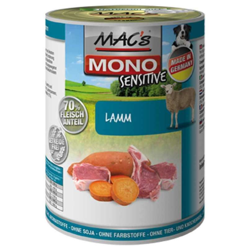 MAC's Dog Mono Sensitive - Lamb canned 400 g