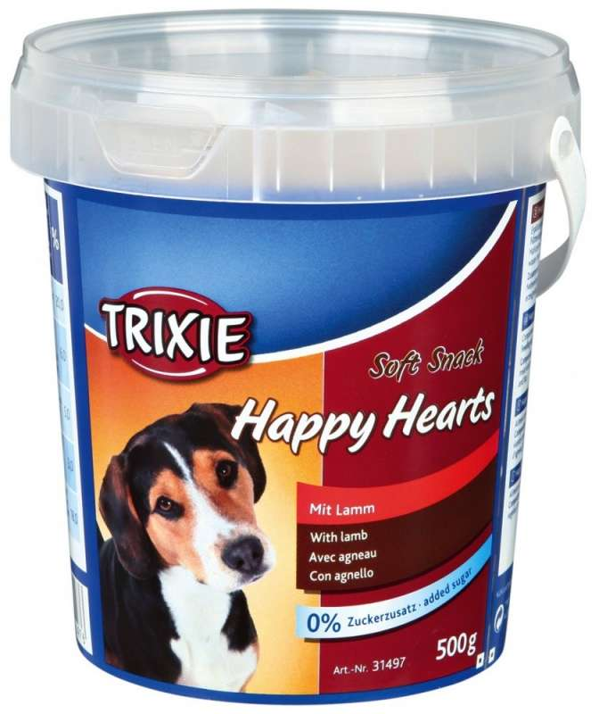 Trixie Soft Snack Happy Hearts 500 g 4011905314976