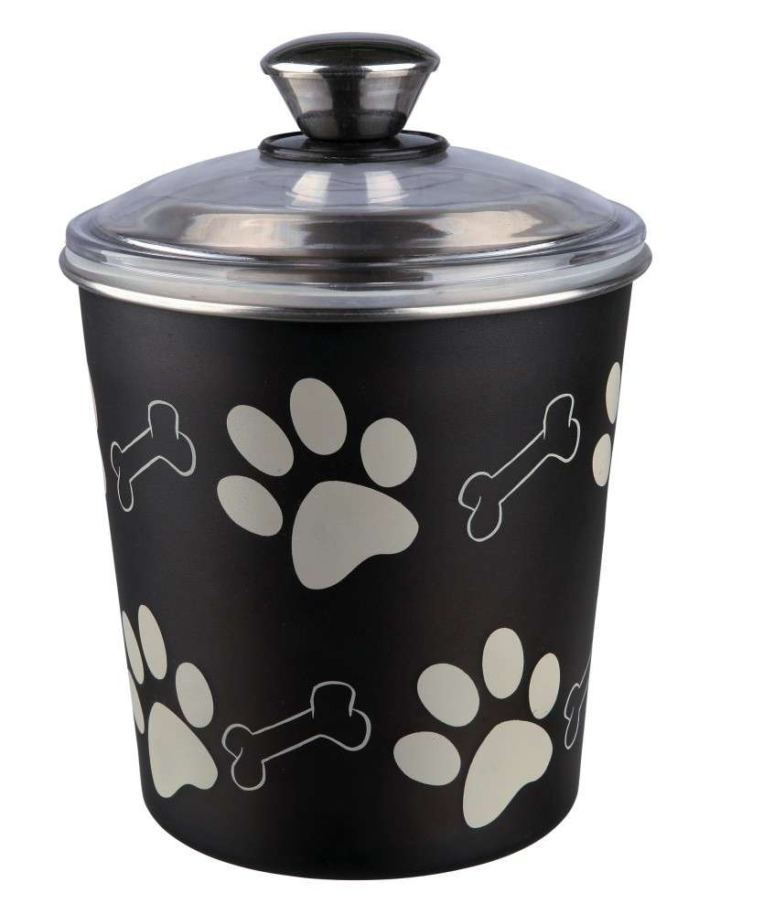 Trixie Food and Snack Jar, Black 1.9 l