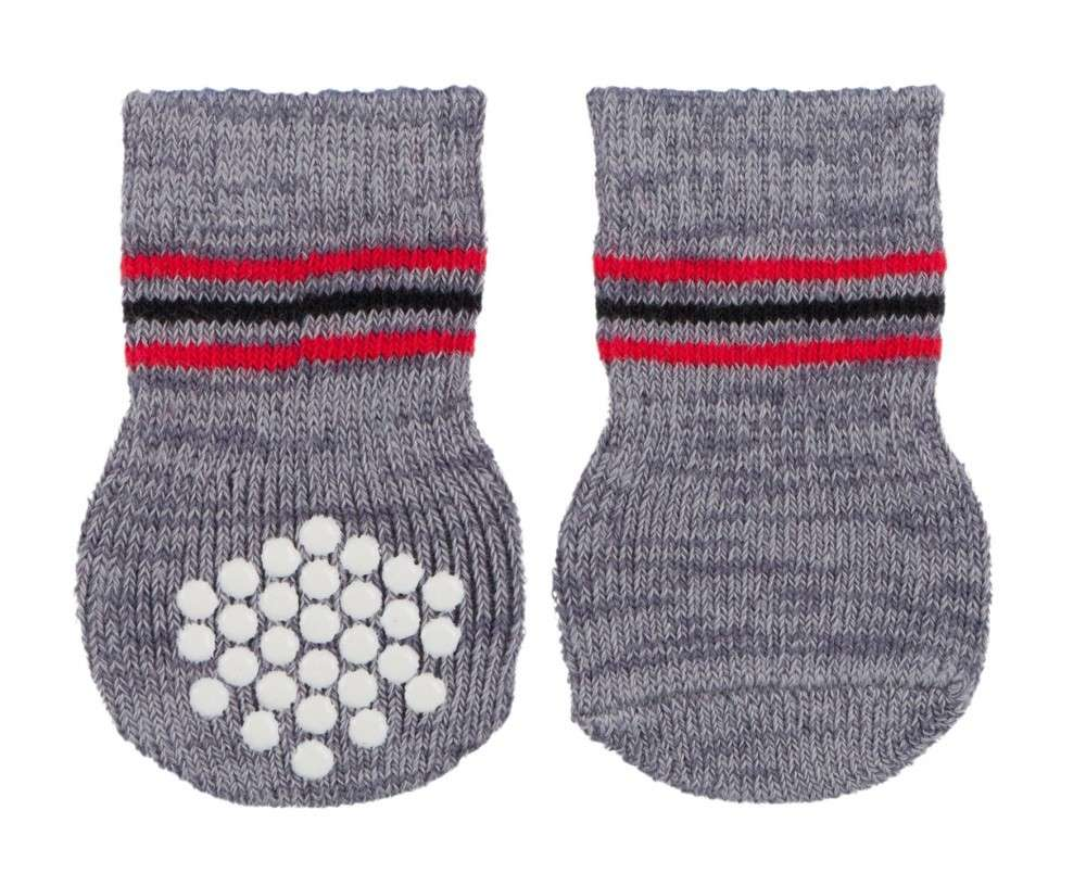 Shoes & Socks Dog Socks, grey L-XL   by Trixie Buy fair and favorable with a discount
