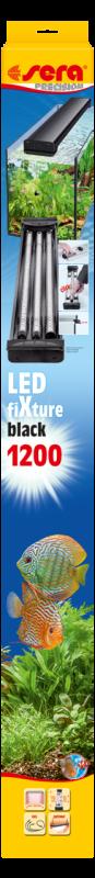 Sera LED fiXture  Zwart 120 cm