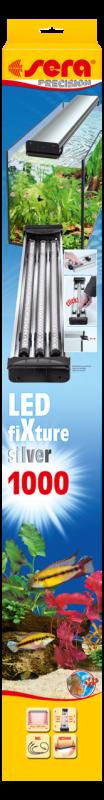Sera LED fiXture  Zilver 100 cm