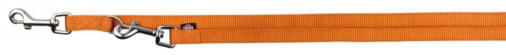 Trixie Premium Laisse Réglable Orange XS