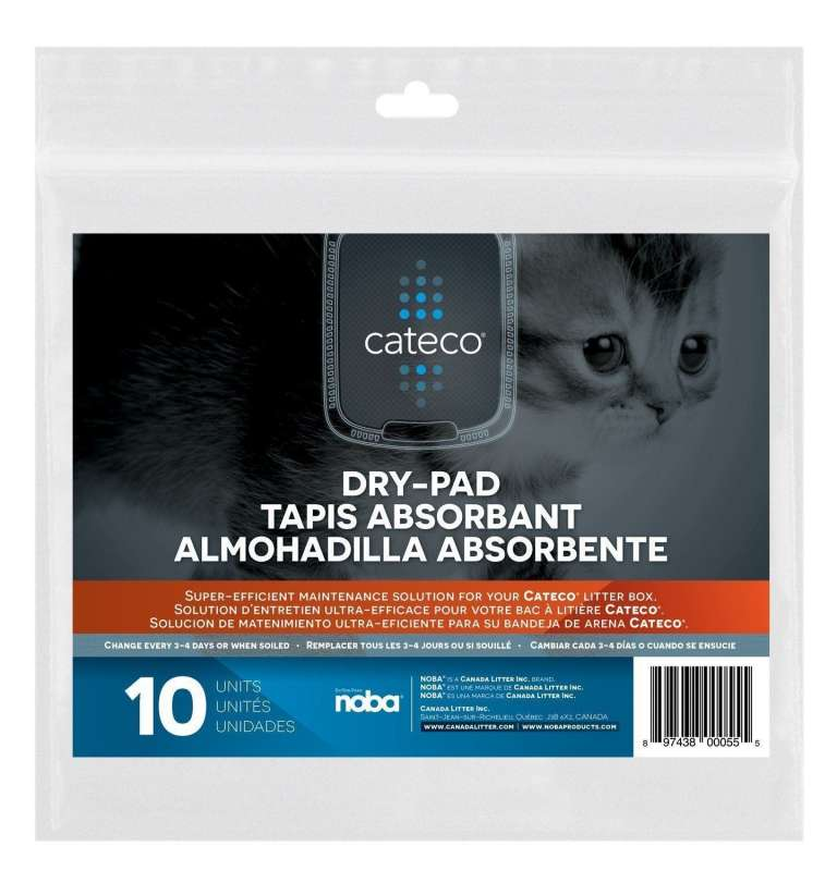 Cateco Careco Cat-Dry-Pad 10 Dry-Pads EAN: 0897438000555 reviews