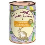 Terra Canis Summer Menu, Rabbit with Zuccini, Pear, Sage and Lavender Flowers 400 g