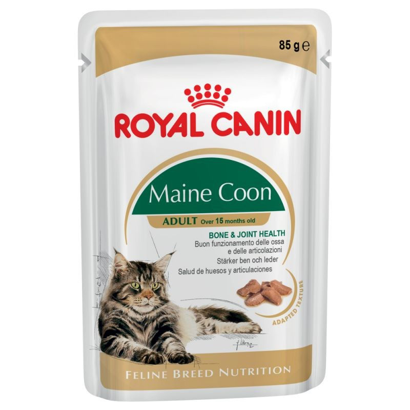 Royal Canin Feline Breed Nutrition Maine Coon Adult 85 g osta edullisesti