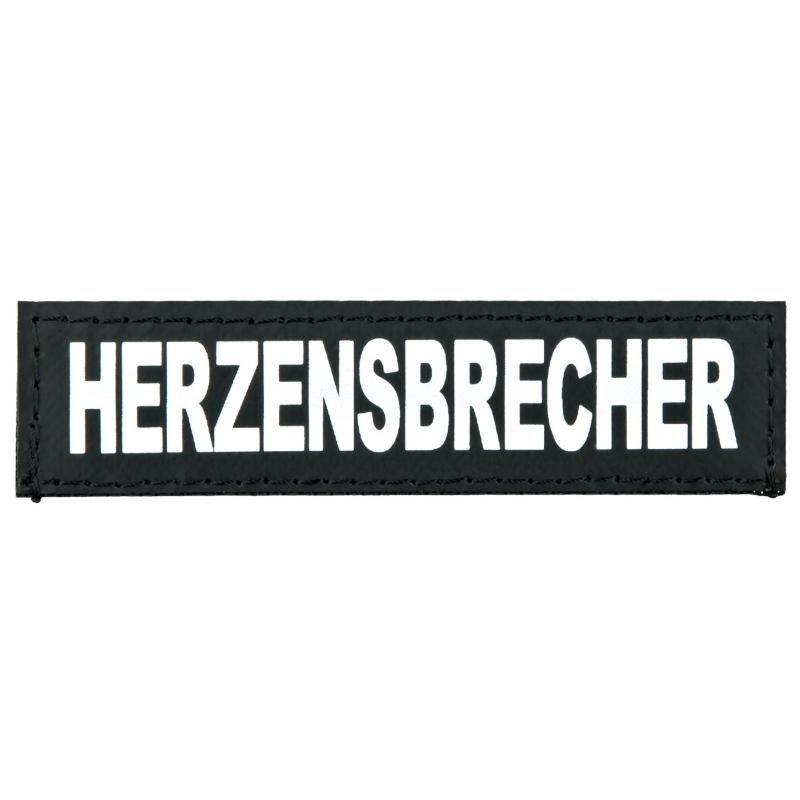 "Julius K9 Etiqueta de Velcro ""Herzensbrecher"" S HERZENSBRECHER"