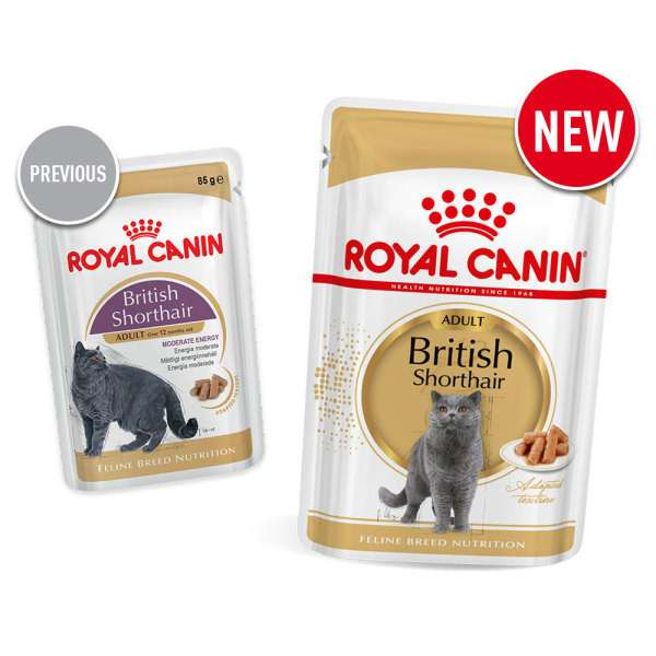 Royal Canin Feline Breed Nutrition British Shorthair Adult 85 g