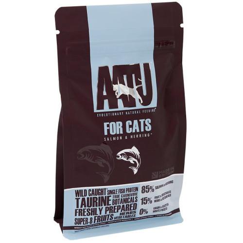 AATU Cat Dry - Saumon & Hareng 200 g, 1 kg, 3 kg