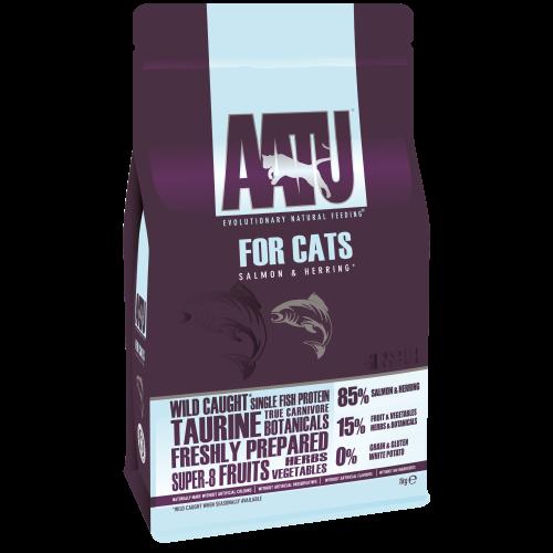 AATU Cat Dry - Salmon & Herring 1 kg 5060189112074 ervaringen