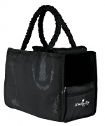 Carrier Bags Trixie Little King of Dogs Carrier, Polyester Black