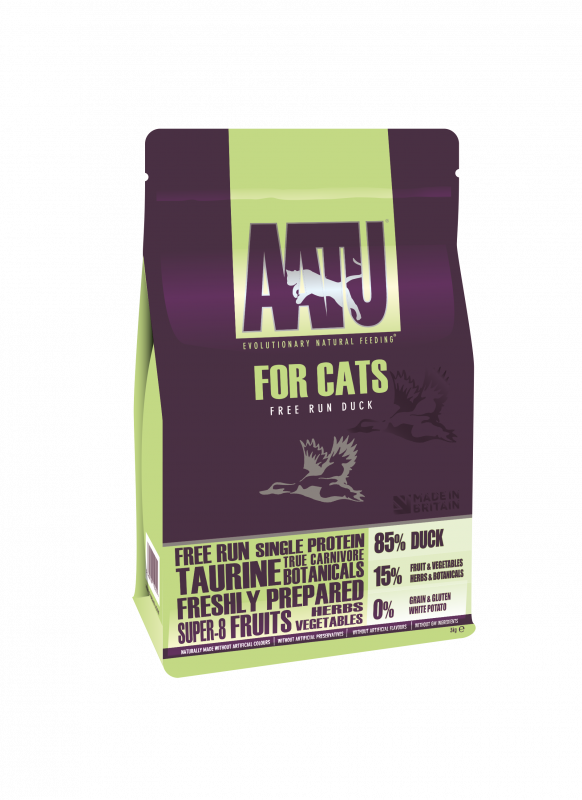 AATU Cat Dry - Duck 3 kg