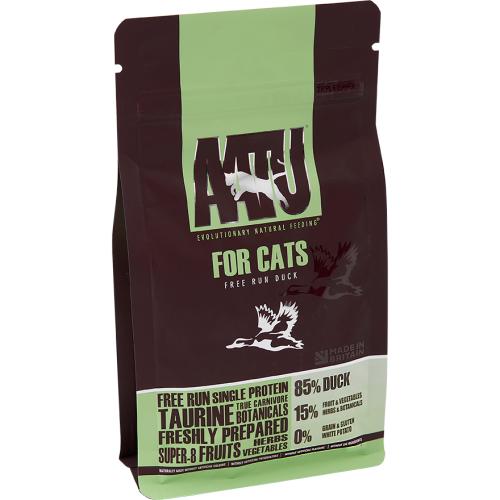 AATU Cat Dry - Duck 3 kg, 1 kg, 200 g test