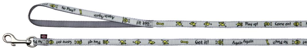 Trixie Halsband met Riem Buddy  22-35x1 cm