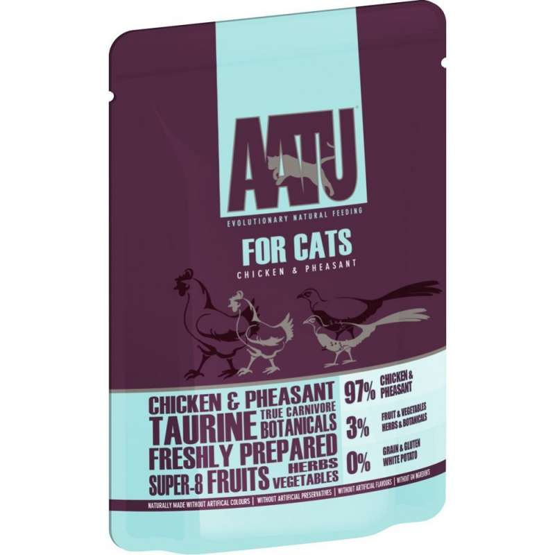 AATU Cat wet - Chicken & Pheasant 85 g 5060189112845 ervaringen