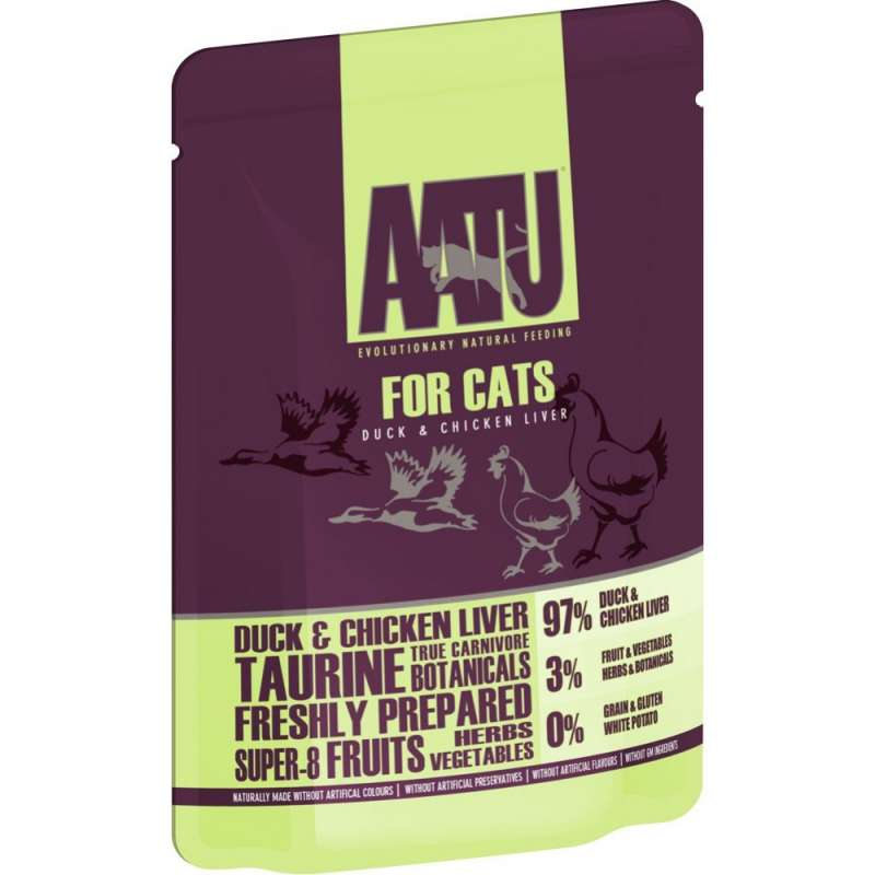 AATU Cat wet - Duck & Chicken Liver 85 g