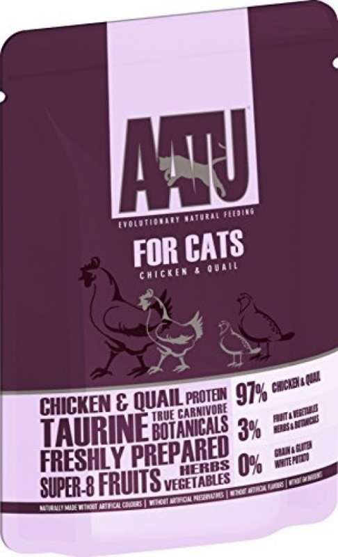 AATU Cat wet - Chicken & Quail 85 g test