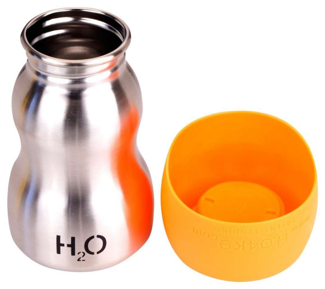 H204K9 Dog Water Bottle and Travel Bowl, 9.5 oz. 740 ml
