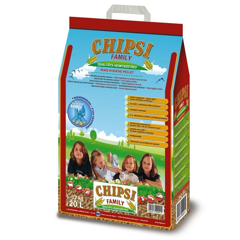 Chipsi Family Pellets de Maíz 12 kg