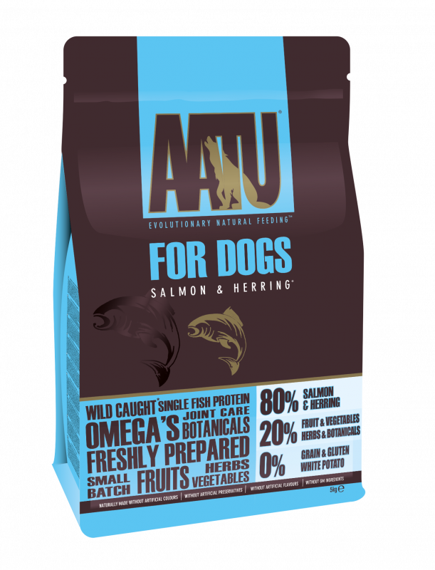 AATU For Dogs - 80/20 Salmon & Herring 5 kg 5060189111879