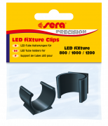 LED fiXture Clips Black