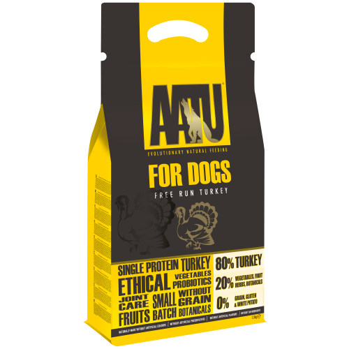 AATU For Dogs - 80/20 Turkey 1.5 kg