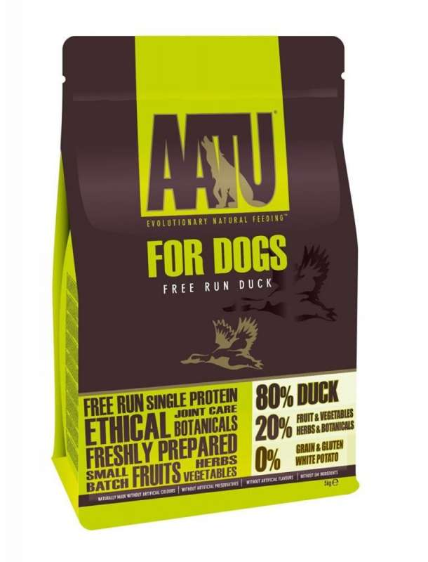 AATU For Dogs - 80/20 Pato 5 kg