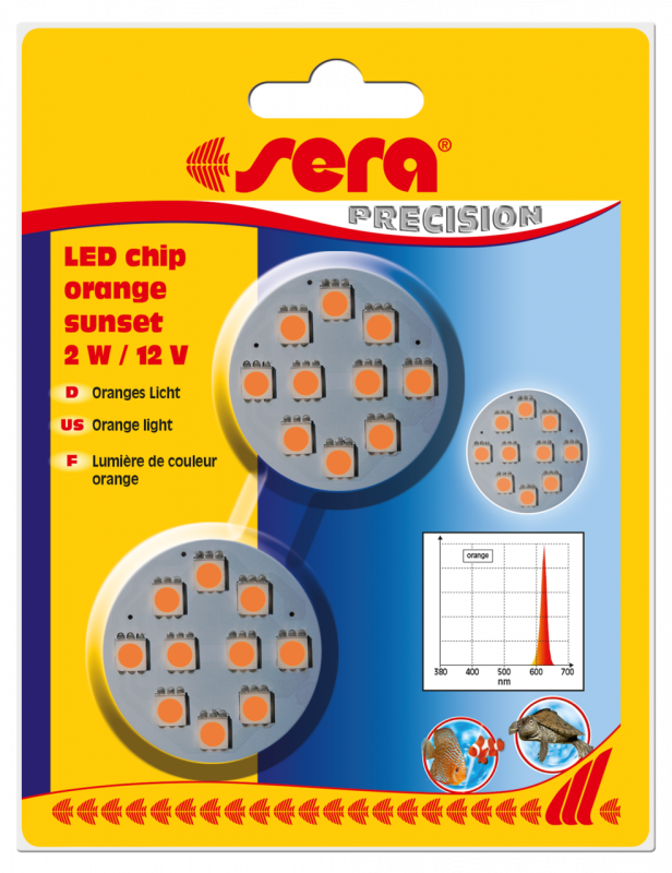 Sera LED Chips - Orange Sunset  Oranje