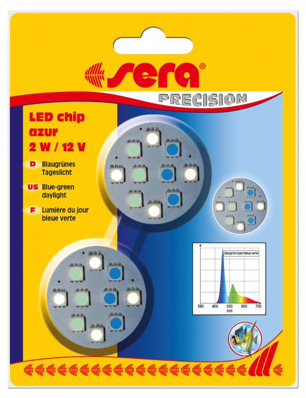 Sera LED Chips - Azur  Aqua