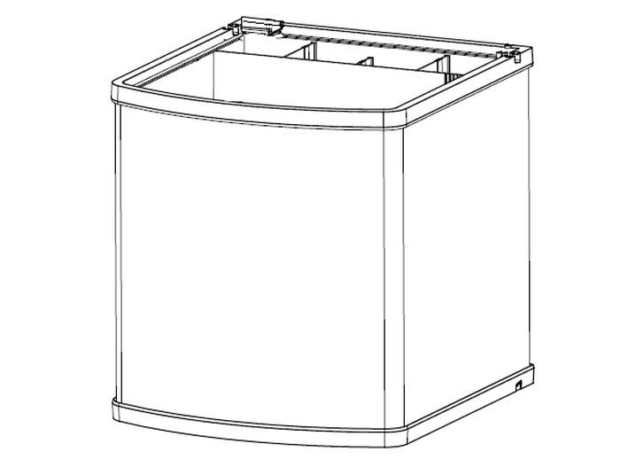 Sera Reserve Glasbak voor sera Biotop Nano LED Cube 60   met korting aantrekkelijk en goedkoop kopen