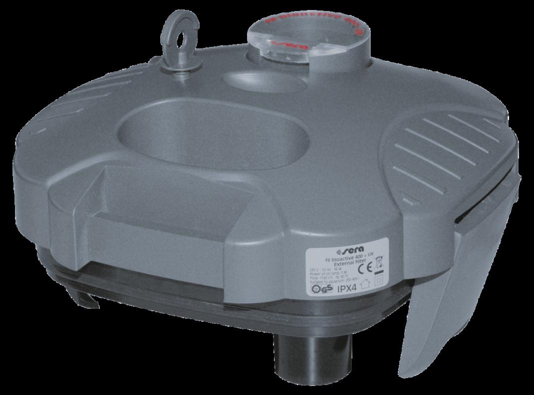 Sera Filterkop Compleet voor 400 + UV   met korting aantrekkelijk en goedkoop kopen