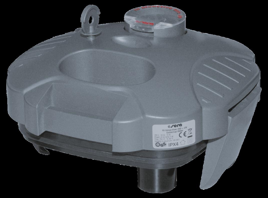 Sera Filterkop Compleet voor 250 + UV   met korting aantrekkelijk en goedkoop kopen