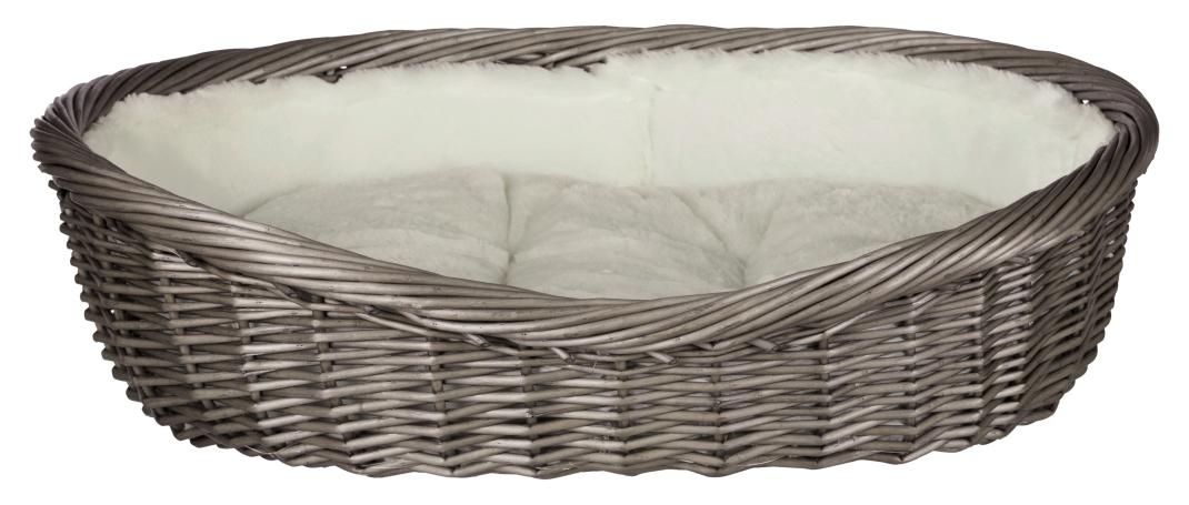 Dog Basket, Grey 50 cm  af Trixie køb rimeligt og favoribelt med rabat