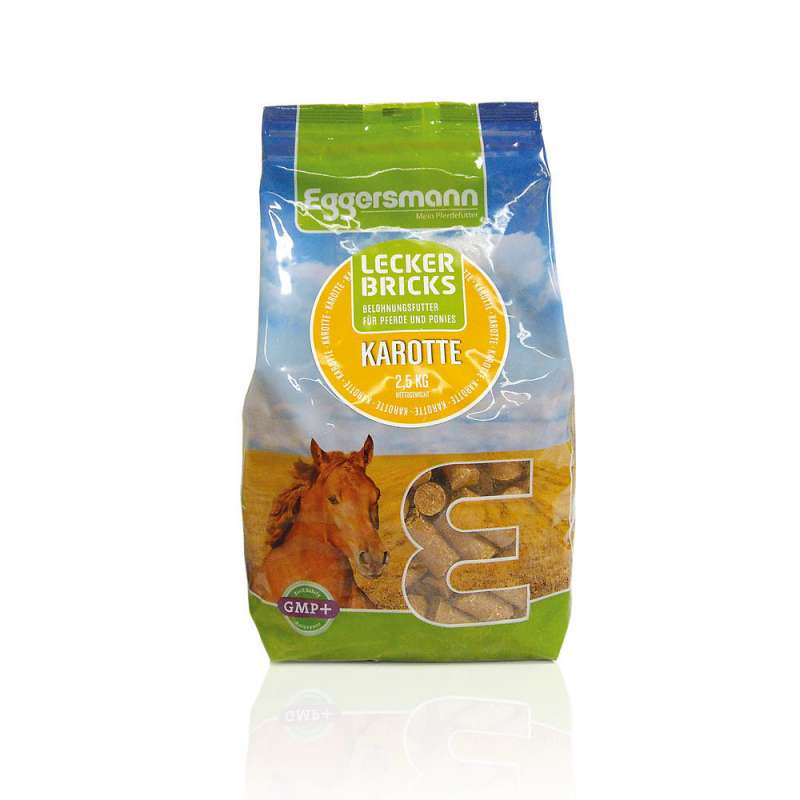 Eggersmann Tasty Bricks Carrot  Wortel 2.5 kg