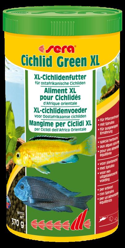 Sera Cichlid Green XL 370 g 4001942002134