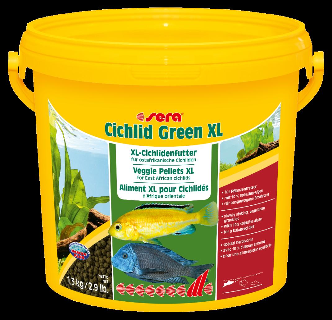 Sera Cichlid Green XL  1.3 kg
