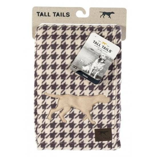 Tall Tails Cobertor Macio Veludo Houndstooth