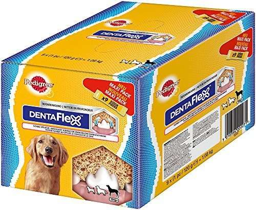 Pedigree DentaFlex Maxi Pack 9x120 g