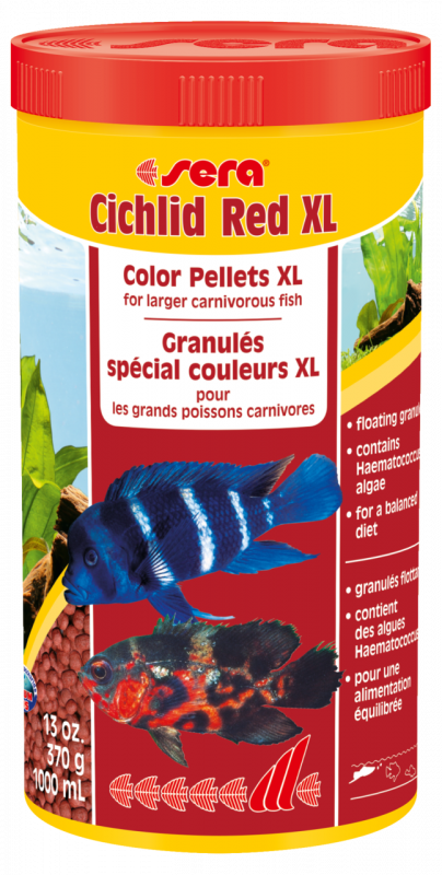 Sera Cichlid Red XL 370 g 4001942002141