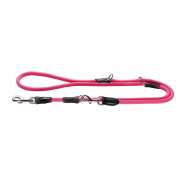Hunter Adjustable Leash Freestyle Neon Hot pink